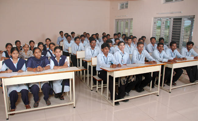 A M Reddy Memorial College of Engineering and Technology Classroom