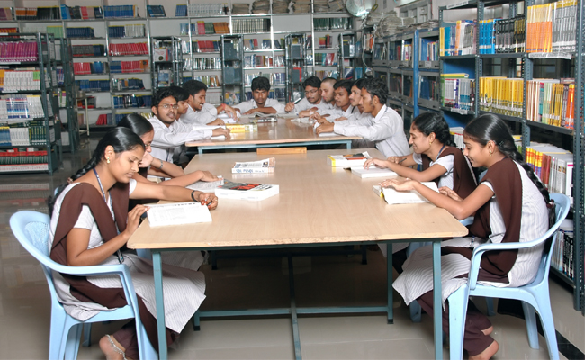 A M Reddy Memorial College of Engineering and Technology Library