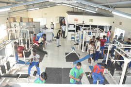 Academy of Maritime Education and Training (AMET University) Gym