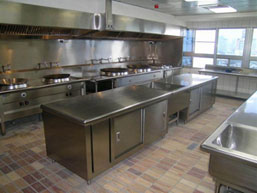 AIHM Institute of Hotel Management Kitchen