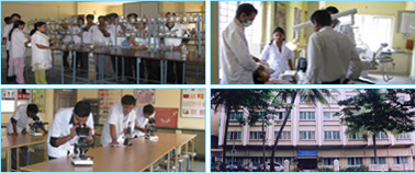 Bangalore Institute of Dental Sciences Science Lab