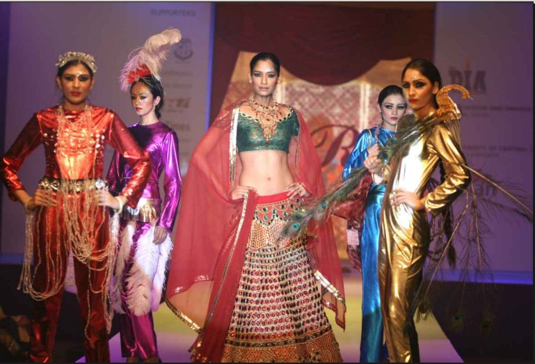 IMS Design and Innovation Academy Delhi Fashion Show Imaage
