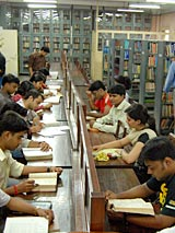 Indian Institute of Social Welfare and Business Management Library