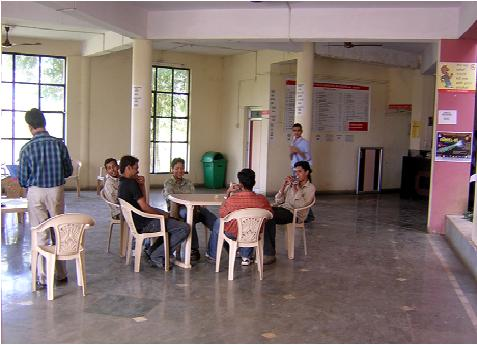 Priyadarshini Institute of Architecture and Design Studies Canteen