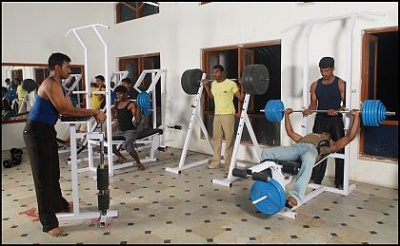 Sathyabama University Chennai Gym