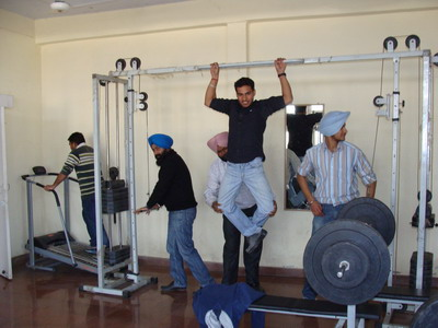 Sri Guru Ram Das Institute of Dental Sciences Gym