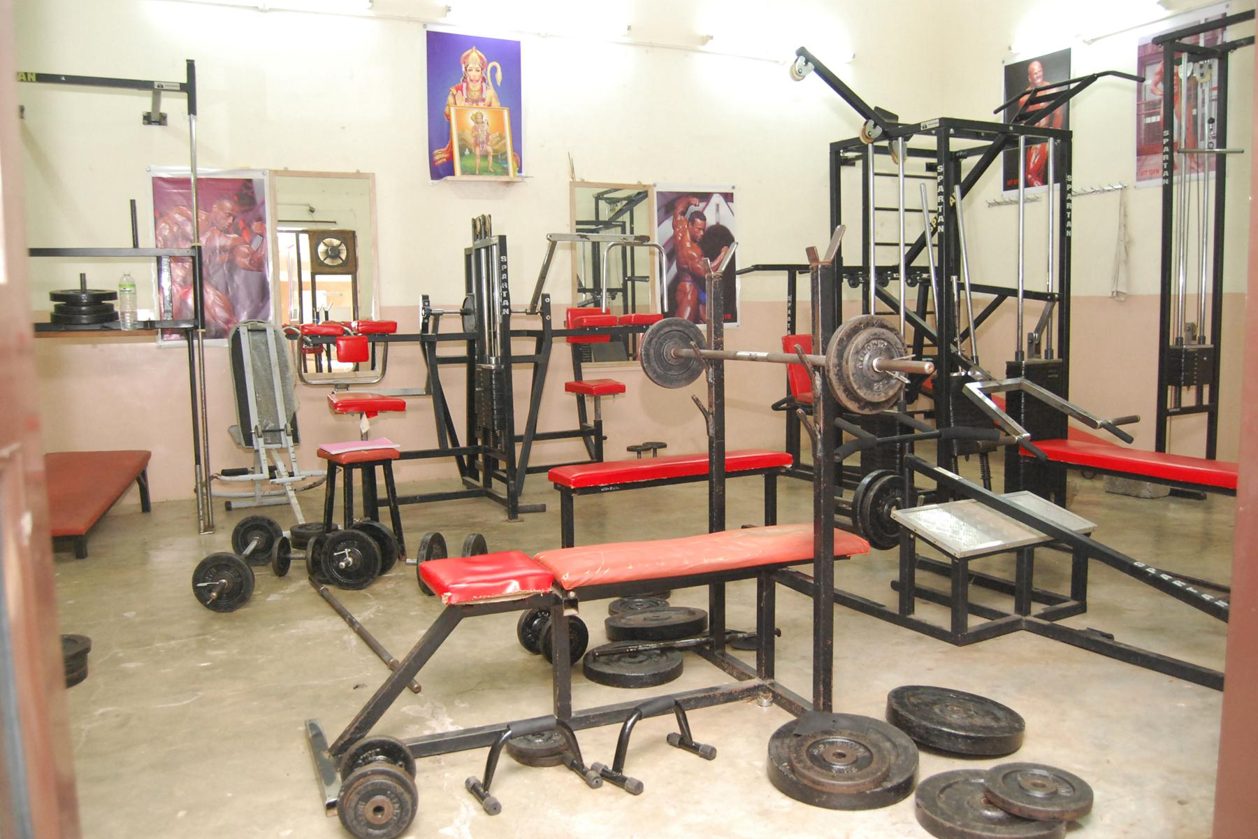Vishwakarma Institute of Technology Gym