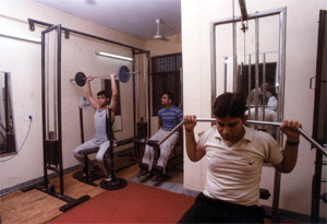 IHM Lucknow Gym