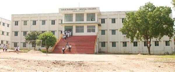J K K Natrajan Dental College Building