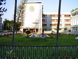 Jawaharlal Institute of Postgraduate Medical Education and research (JIPMER) Building