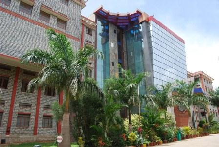 Kristu Jayanti College of Management and Technology Bangalore Building