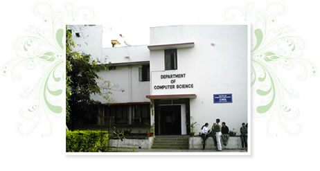 Pune University Department of Computer Science  Building