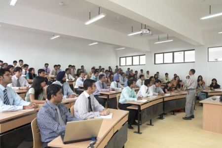 Symbiosis Institute of Management Pune Classrooms