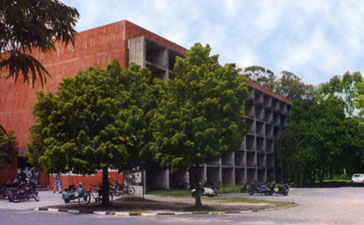 University Business School Chandigarh Building