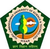 Department of Pharmaceutical Sciences Guru Jambheshwar University of Science & Technology
