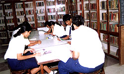 Maneckji Cooper Education Trust School Library