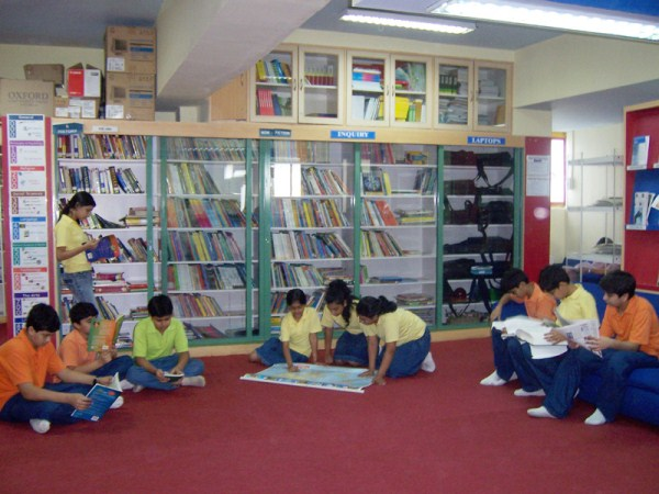 Poddar International High School Library