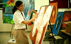 Indus International School Art Room
