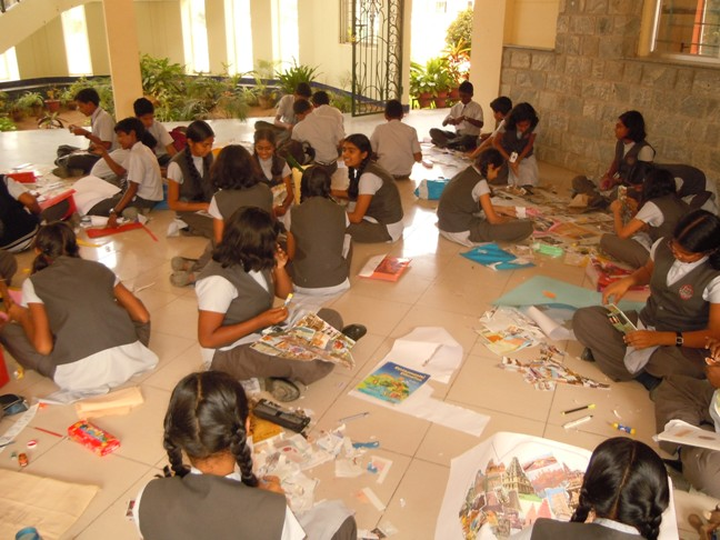 Lake montfort school Art Room