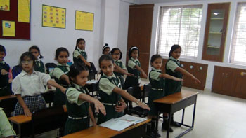 Whitefield Global School Classroom