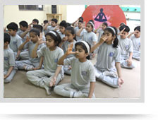 Ahlcon International School Yoga Room