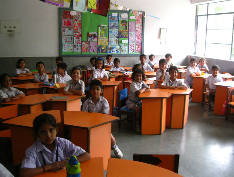 The Mothers International School Classroom