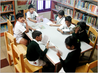 Delhi Public School Hyderabad Library