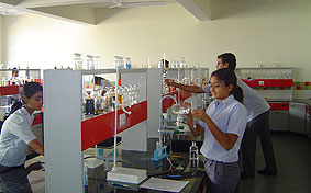 Sanskar School Science lab