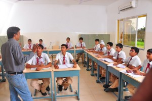 Parasrampuria Gem International School Classrooms