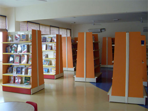 Parasrampuria Gem International School Library