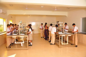 Parasrampuria Gem International School Science Labs