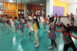 Wisdom school Dance room