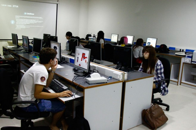 American International School Chennai Computer lab