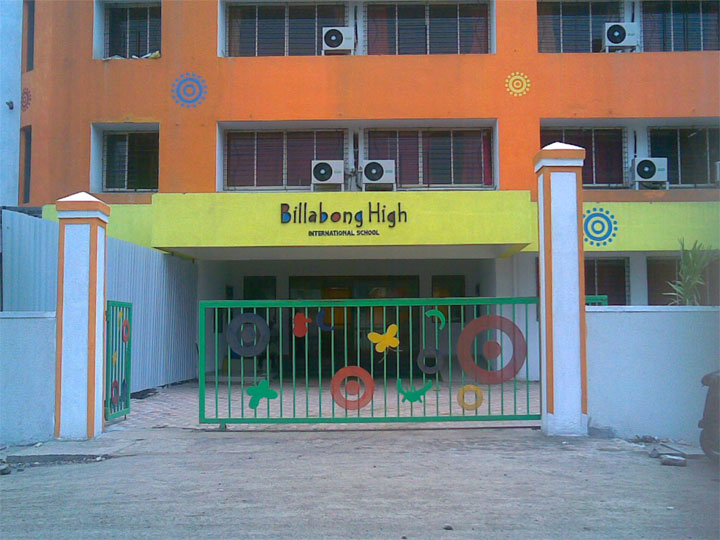 Billabong High International School, Malad Building