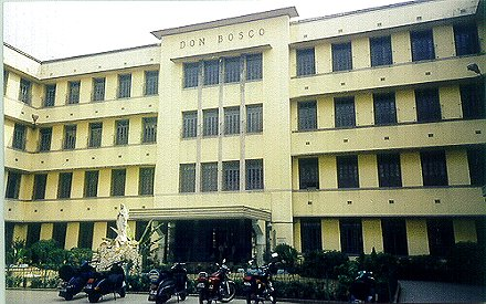 Don Bosco School Kolkata Building