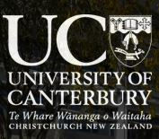 University of Canterbury Christchurch